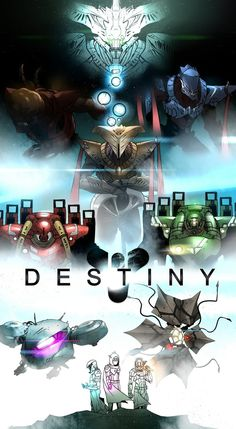 Destiny Masterpiece Year 2 (Re-upload) by Dominus-Gary Destiny Video Game, Video Game Art, Video Games, Destiny Poster, Destiny Comic, Destiny Fallen, Love Destiny, Destiny Backgrounds, Destiny Bungie