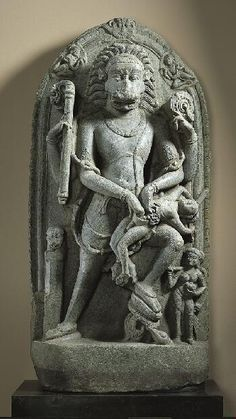 Man-Lion Avatar of Vishnu (Narasiṃha), Bihar 975-1025, Norton Simon Museum