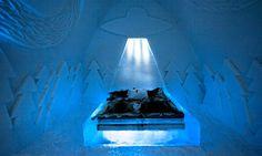Ice Hotel má nový pokoj s létajícími mimozemšťany