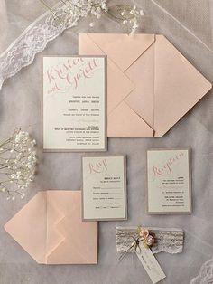 Top 15 popular rustic wedding invitations idea samples on Pinterest | http://www.weddinginclude.com/2015/03/top-15-popular-rustic-wedding-invitaitons-idea-samples-on-pinterest/