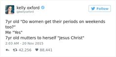 Painfully Hilarious Posts About Periods That Only Women Will Understand
