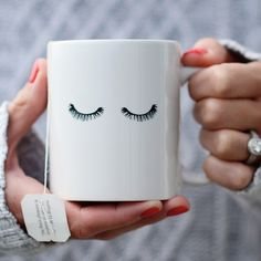 All you need is coffee and lashes! Each piece in the Fall Home collection is a thoughtful gift for the ladies who love you most, or a special treat for yourself! 15 OZ Dishwasher and microwave safe. O