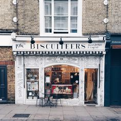 ***Biscuiteers Boutique and Icing Cafe Notting Hill,  194 Kensington Park Rd, London W11 2ES***  >>> Where to take an interesting photo of London >>>> http://london.okbutfirstcoffee.com