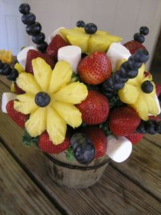 Decoracion en frutas