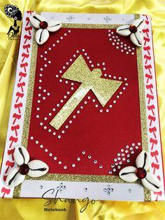 Decorated Notebooks, Yoruba Religion, Orisha, Spirituality, Gift Wrapping, Inspired, Elegant, Holiday Decor, Amazing