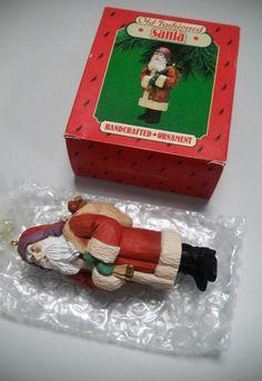 Old Fashioned Santa - retro 1986 Hallmark Keepsake, Christmas collection…