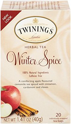 Twinings Herbal Tea, Winter Spice, 20 Count *** To view further for this item, visit the image link.