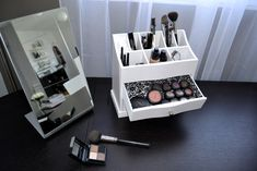 I want something like this for my make-up. Storage & Closets Photos Design