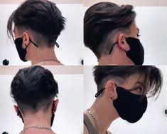 Mens Haircuts Short Hair, Tomboy Hairstyles, Short Hair Undercut, Undercut Hairstyles, Short Hair Cuts, Mens Haircut Undercut, Shot Hair Styles, Hair And Beard Styles, Curly Hair Styles