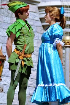 Peter Pan And Wendy** I'm pretty sure that's the Peter I met at Disney****