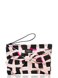 on purpose pastry pink wristlet by kate spade new york