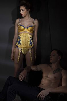 Design by Philippa Joyce, Contour Fashion BA (Hons)