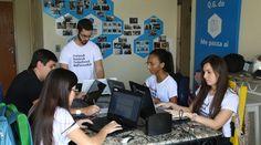 As aulas do Me Passa Aí também são feitas por estudantes. Empresa faturou R$ 40 mil no ano passado