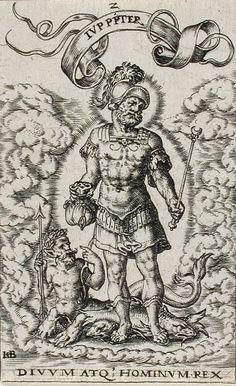 Jupiter by Johann Theodor de Bry (Flanders, Liège, 1561-1623)