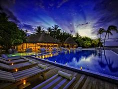 evening on tropics