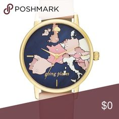 ISO Kate spade world watch going places In search of this watch !!!! Tag me if you have this watch. !! kate spade Accessories Watches