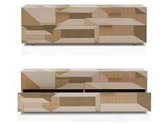 Inlay Furniture Collection Displaying Intruiguing Geometric Patterns