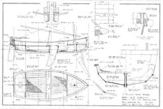 small wooden sailboat plans - Поиск в Google