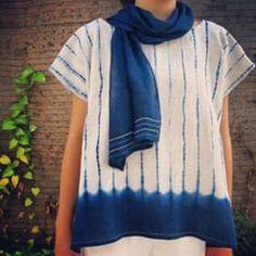 Leong Minyi (@mini_mai_studio) | Lovely shibori blouse.