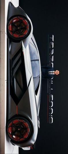 (°!°) Lamborghini Terzo Millennio EV Concept #hypercars