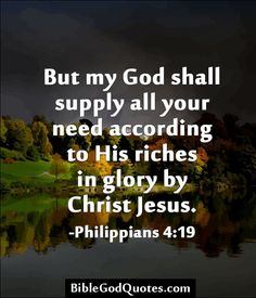 images of my god will supply | But my God shall supply all your need