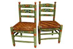 Spanish  Colonial Side Chairs, Pair on OneKingsLane.com
