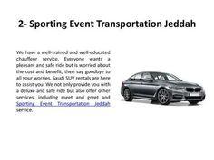 Suv Rental, Jeddah, No Worries, Transportation, Education, Onderwijs, Learning