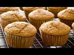 Banana muffins are my favorite! Try this great recipe from eMeals for healthy yummy banana muffins! Banana Muffins Ingredients cup all-purpose flour ½ cup whole wheat flour teaspoons baking s… Vegan Banana Muffins, Coconut Muffins, Banana Coconut, Baked Banana, Healthy Muffins, Low Fat Muffins, Coconut Oil, Protein Muffins, Oatmeal Muffins
