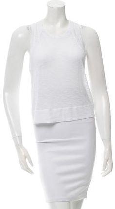 Helmut Lang Crop Scoop Neck Top Helmut Lang, Peplum Dress, Scoop Neck, Stylish, Clothing, Tops, Dresses, Women, Fashion