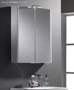 Entity Designer Illuminated Mirrored Bathroom Cabinet From Designerbathroomconcepts Com