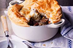 Beef and beer onepie recipe, NZ Womans Weekly – This scrumptious pie will make the day of any full blooded Kiwi this winter - Eat Well (formerly Bite) New Zealand Food, Tacos, Food Hub, Beef Ribs, Beer Recipes, The Dish, Casserole Dishes, Macaroni And Cheese, British Recipes
