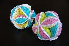 Ravelry: miwilyn's Multi-Color Cotton Puzzle Ball
