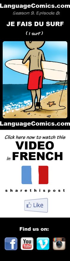#French video practice and pronunciation. Enjoy and share! https://youtu.be/nvSRApXZkHQ