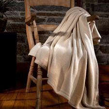 Egyptian Cotton Blanket Was: $65.00 - $105.00                         Now: $32.00 - $52.00