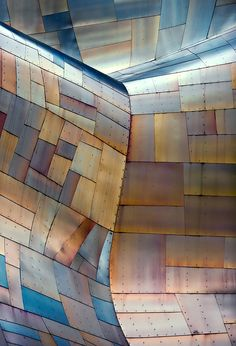 gehry's children #5 by andrew prokos at frank gehry's EMP museum, seattle, WA, USA