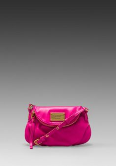 MARC BY MARC JACOBS Classic Q Mini Natasha Bag in Pop Pink