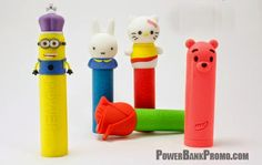 Promo Crunch Custom Shaped Rubber Power Banks #usb #powerbank #battery #charger #logo #custom #marketing #branding #pvc #tech #gadget