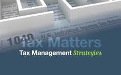 Tax Management Strategies Seminar by Sandra Tollos - Concord Wealth Management on Wednesday, April 19.