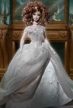 Lady Camille Barbie Doll- Wow! I love her hair and her gown! She is so gorgeous!