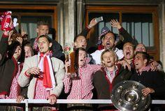 Au moins au Bayern ils font vraiment la fête et il y a de la bière !