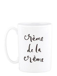 Daisy Place Crème de la Crème Teacup Mug by kate spade new york