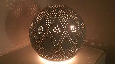 Keramik Lichterkugel