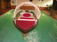 cool water Beds  | not quite sure how you get in or out, maybe once you are in you ...