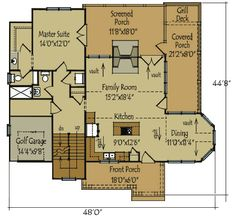1613 sq ft. Vaulted Ceilings