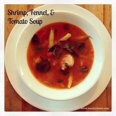 """""""3 Bowls"""" Shrimp, Fennel, & Tomato Soup - Honest Body"""