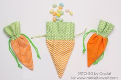 Sew a Carrot Treat Bag for Easter!
