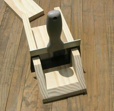 Wooden Loaf/Log Soap Cutter-Miter Box w/ Knife  This simple and sturdy Wooden Loaf/Log Soap Cutter allows you to cut your loaf/log soap into