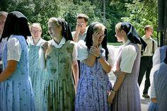 Blinding hutterite fashion by A Hutterite's Life . Kelly Hofer, via Flickr