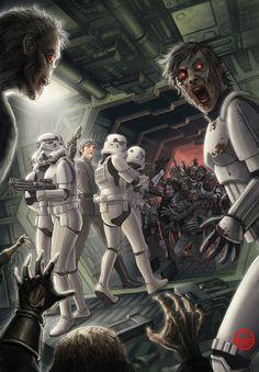 Zombie Star Wars AWESOME