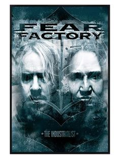 Gloss Black Framed The Industrialist - Fear Factory  http://www.popartuk.com/music/gloss-black-framed-the-industrialist-61242-p-pp33230-framed-poster.asp  #FearFactory #TheIndustrialist #Rock